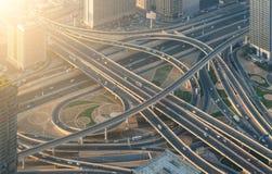 高速公路交叉路 库存照片