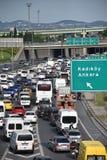 高速公路交通 库存照片