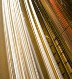 高速公路加速 库存图片