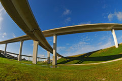 高速公路南的佛罗里达 库存图片