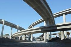 高速公路在南加州 库存照片