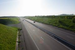 高速公路在诺曼底 免版税库存图片