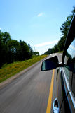 高速公路夏天 库存照片