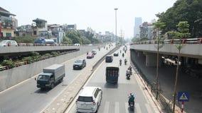 高速公路大道在河内 库存照片