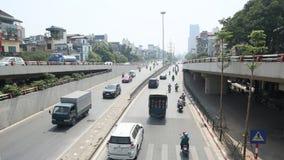 高速公路大道在河内 免版税库存图片