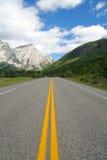 高速公路山 库存照片