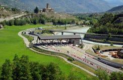 高速公路意大利语 库存照片