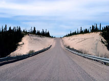 高速公路拉布拉多trans 库存图片