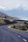 高速公路新西兰 免版税库存照片
