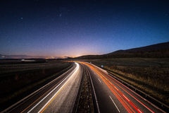 高速公路方式 免版税库存照片