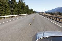 高速公路旅行 免版税库存图片