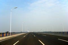 高速公路桥梁 库存图片