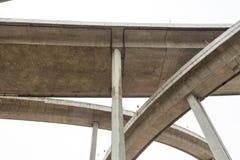 高速公路桥梁 免版税库存图片