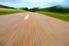 高速公路横向 图库摄影