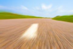 高速公路横向 免版税库存图片