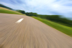 高速公路横向 库存图片