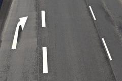 高速公路的模式 免版税库存图片