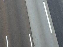 高速公路的模式 图库摄影