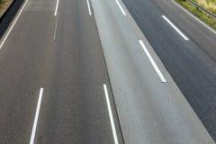 高速公路的模式 库存图片
