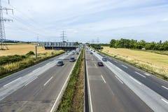 高速公路的模式 免版税图库摄影