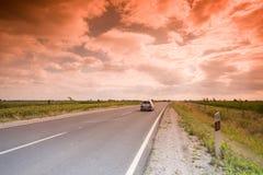高速公路神秘主义者 库存照片