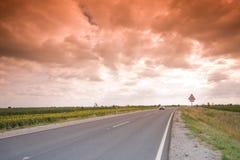 高速公路神秘主义者 免版税库存照片