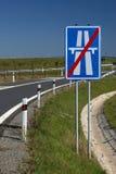 高速公路符号 免版税库存照片