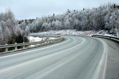 高速公路绕 图库摄影