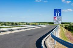 高速公路路 免版税库存图片