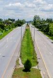高速公路运输路线二 免版税库存照片