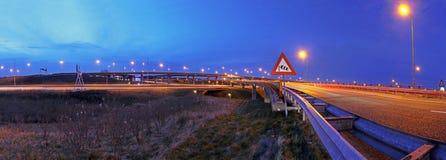 高速公路连接点 免版税图库摄影