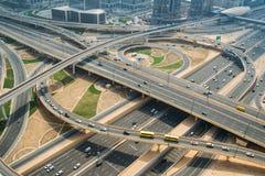 高速公路连接点 免版税库存照片