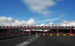 高速公路通行费 免版税库存图片