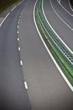 高速公路通过夏时的法国 库存照片