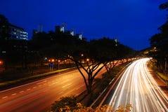 高速公路速度 免版税库存图片