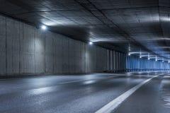 高速公路隧道 库存照片