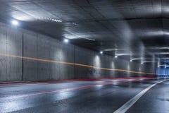 高速公路隧道 免版税图库摄影