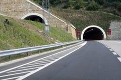 高速公路隧道 免版税库存照片
