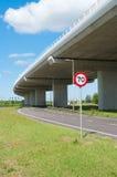 高速公路高架桥 免版税库存照片