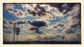 高速公路87乘驾 库存图片