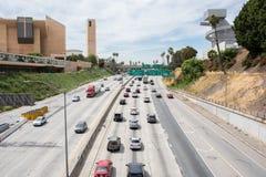 高速公路101在洛杉矶 库存照片
