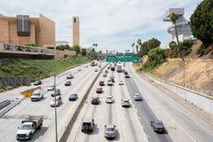 高速公路101在洛杉矶 免版税库存照片