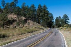 高速公路35在西南新墨西哥 库存图片