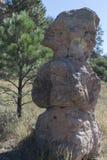 高速公路35岩石巨型独石 免版税库存照片