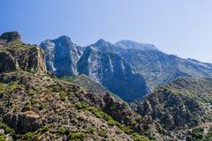 高速公路180,国王峡谷国家公园,加利福尼亚,美国 库存照片