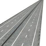 高速公路 库存例证