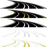 高速公路 向量例证