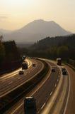 高速公路 图库摄影