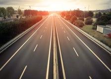 高速公路 库存图片