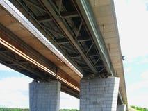 高速公路Brige 免版税库存图片